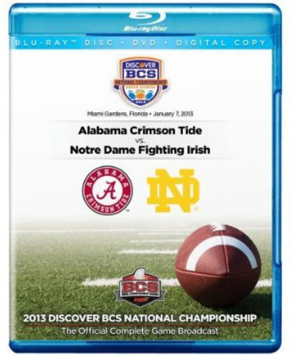 2013 Discover BCS National Championship Game (Blu-ray) by Team Marketing