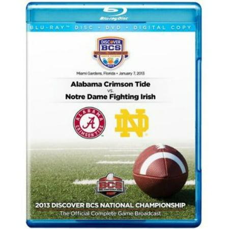 2013 Discover BCS National Championship Game (Blu-ray) Bcs National Championship Tickets