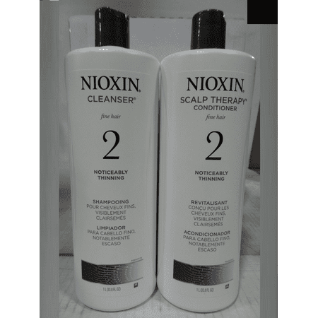 Nioxin Nioxin System 2 Cleanser Amp Scalp Therapy