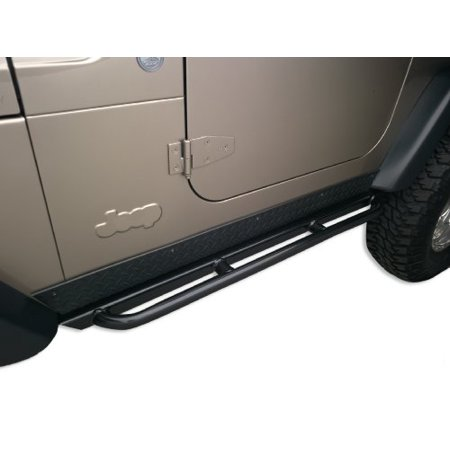 BODY ARMOR 4X4 TJ-4121 97-06 JEEP WRANGLER TJ ROCKCRAWLER SIDE GUARDS - Jeep Wrangler Body Armor