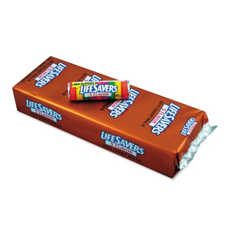 LifeSavers, Assorted Flavors Hard Candy, 11.4 Oz, 20 Ct