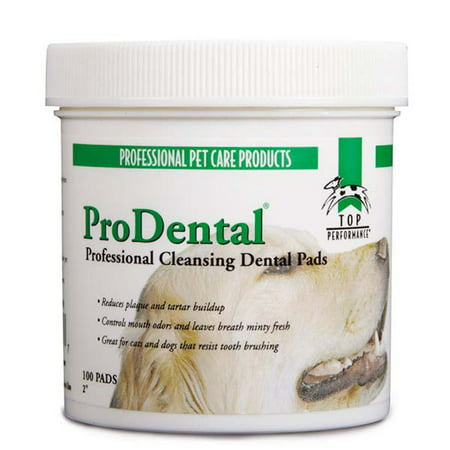 Dog Dental Wipes 100 Count Dental Care Pads for Dogs and Cats ()
