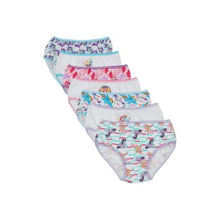 My Little Pony, Girls Underwear, 7 Pack Panties (Little Girls & Big Girls)