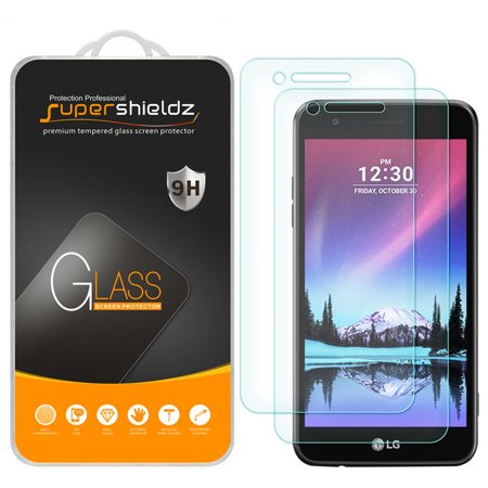 [2-Pack] Supershieldz for LG Rebel 3 LTE Tempered Glass Screen Protector,  Anti-Scratch, Anti-Fingerprint, Bubble Free