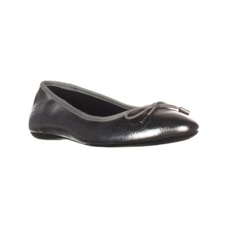Womens A35 Aleaa Ballet Flats, Pewter, 6.5 -