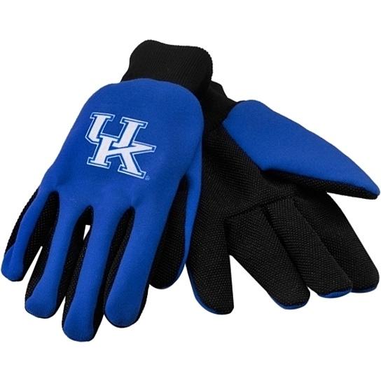 NCAA Sport Utility Gloves Kentucky Wildcats No Slip - Forever Collectibles