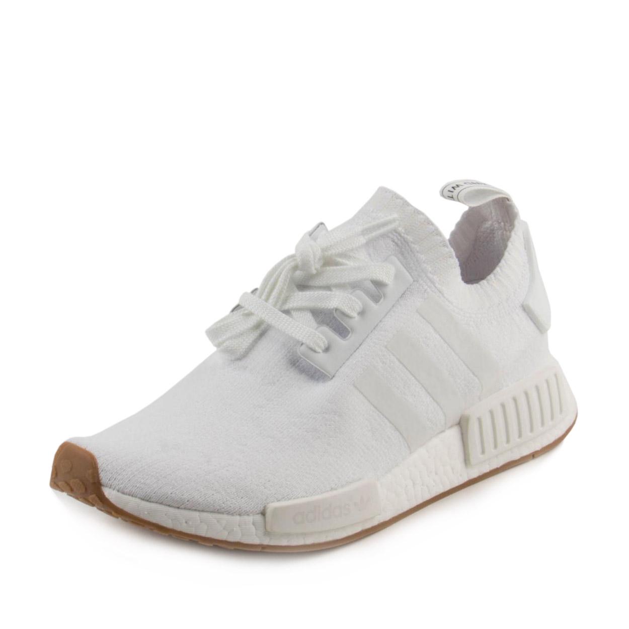 Adidas Mens NMD_R1 PK White/Gum BY1888