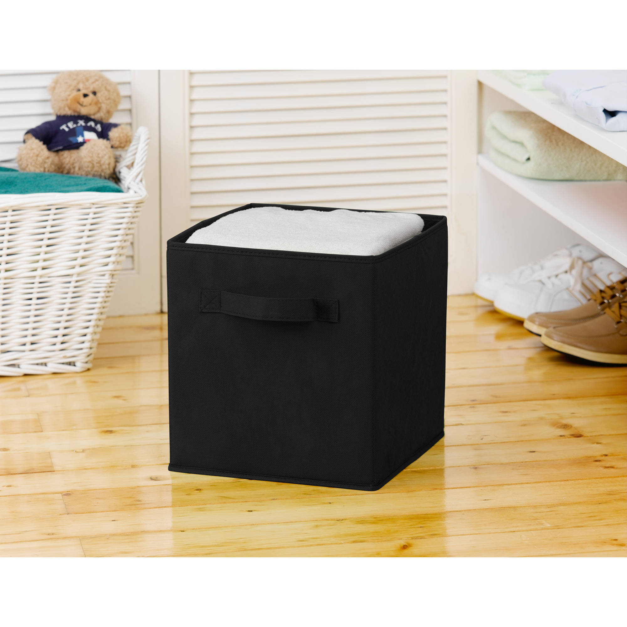 Sorbus Foldable Storage Cube Basket Bins, 4-Pack