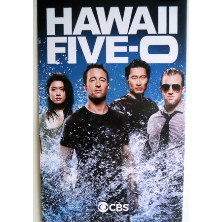 Hawaii Five-0 Five 0 Poster Cast Photo Promo 2ft x3ft