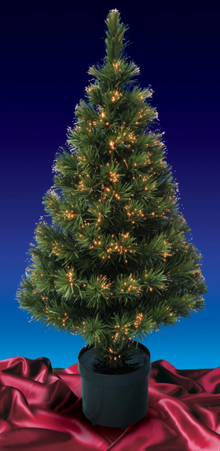 Amazing 5u0027 Pre Lit Color Changing Fiber Optic Artificial Christmas Tree   Multi  Lights