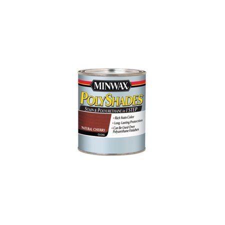 Minwax® PolyShades® Natural Cherry, Gloss, - High Gloss Cherry
