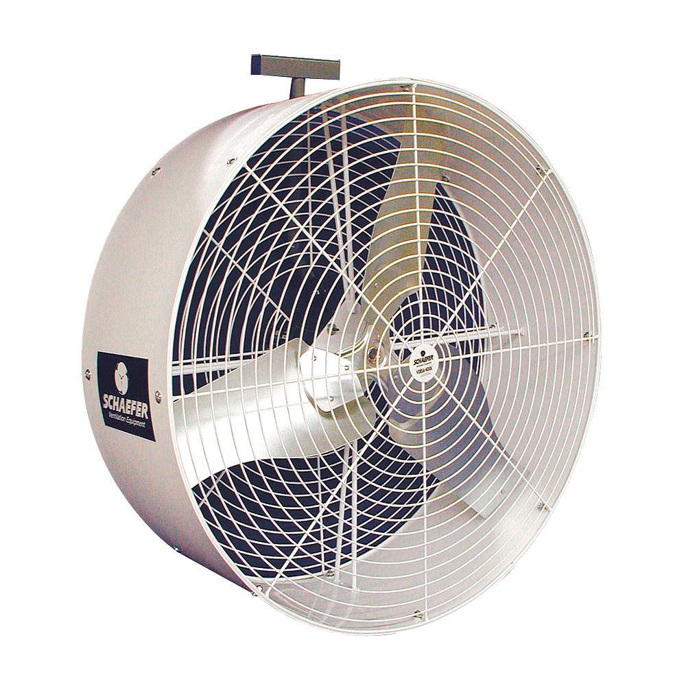 "SCHAEFER 36"" Industrial Wall-Mounted Non-Oscillating Air Circulator GVK36"