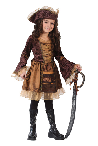 Child Sassy Victorian Pirate Costume by Fun World