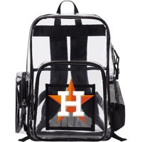 Houston Astros The Northwest Company Dimension Clear Backpack - No Size