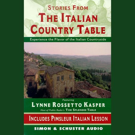 The Stories from The Italian Country Table - Audiobook