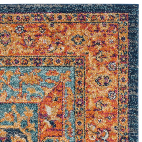 Safavieh Evoke Blue/Orange Area Rug