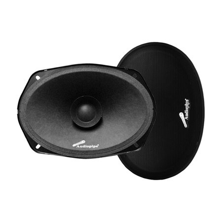 "Audiopipe 6x9"" Dual Cone Low Mid Frequency Loudspeaker(Sold in pairs) 250W Max"