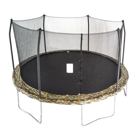 Skywalker Trampolines 15-Foot Trampoline, with Enclosure, Camouflage