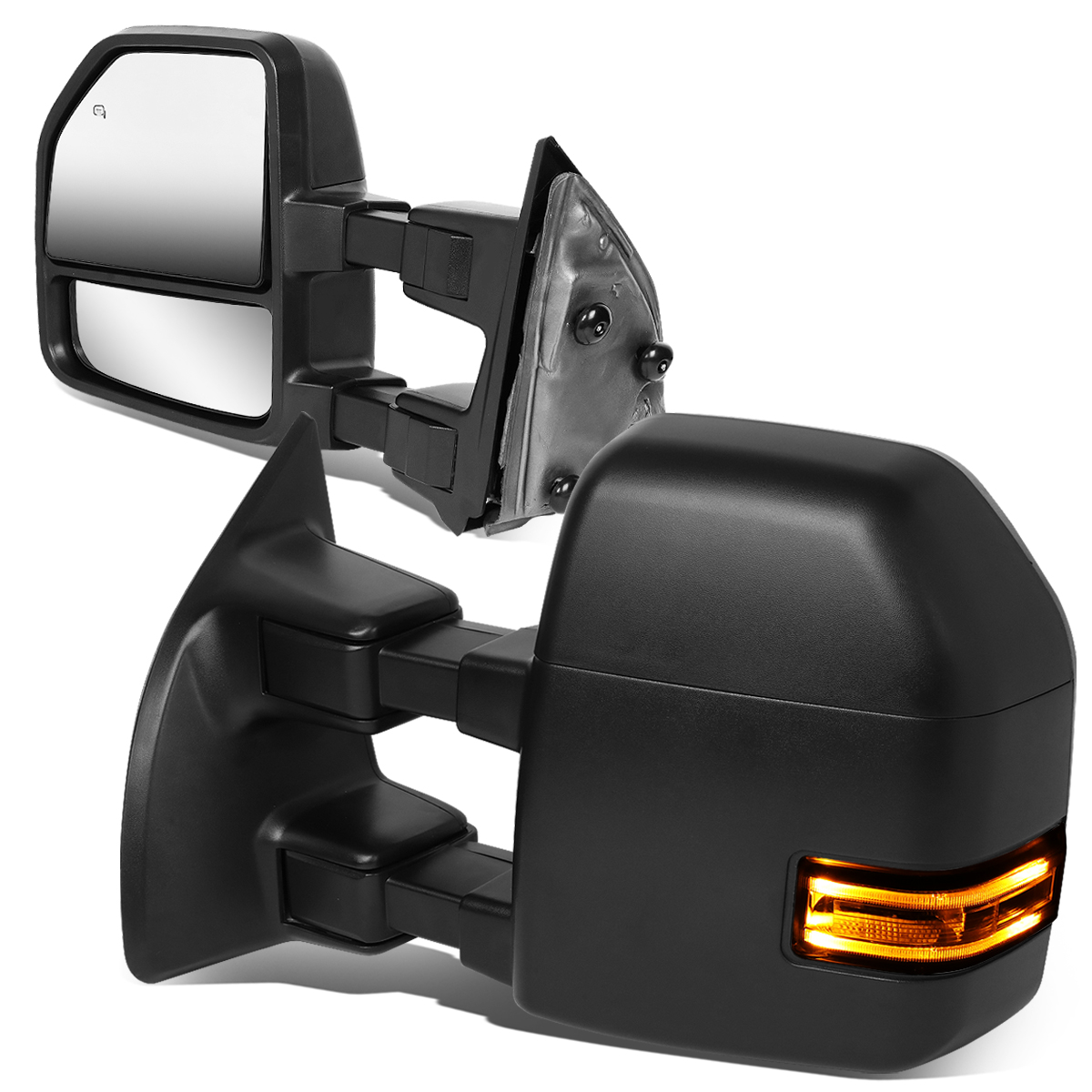 Power Heated Clearance Signals Tow Mirrors Pair For 2003 04 05 06 2007 Ford F250