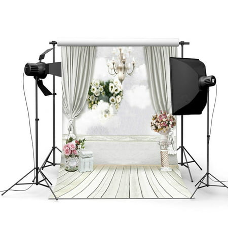 NK HOME Studio Photo Video Photography Backdrops 5x7ft Wedding Scene Printed Vinyl Fabric Background Screen Props