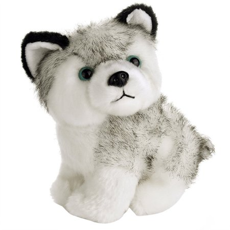 matoen 7inch Lovely Plush Dog Siberian Husky Soft Stuffed Animal Puppy Toy (Long Haired Siberian Husky Puppies For Sale)