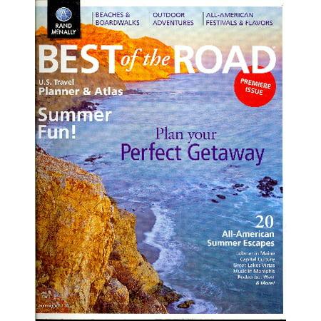 Best of the Road U.S. Travel Planner & Atlas (Summer, Volume (Best Travel Company For Pta)