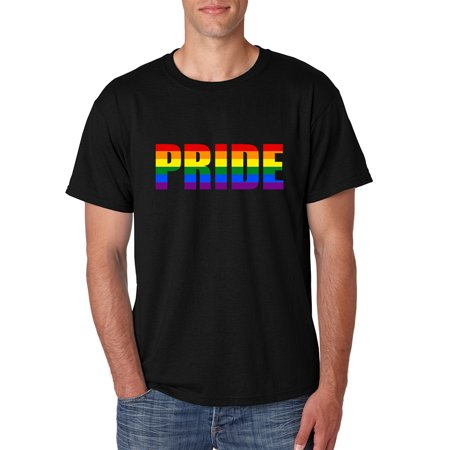 Pride Parade Outfits (Allntrends Men's T Shirt Pride Rainbow Colors Gay Love Parade)