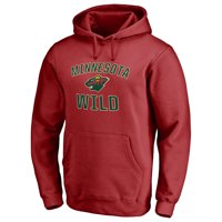 Minnesota Wild Victory Arch Pullover Hoodie - Red