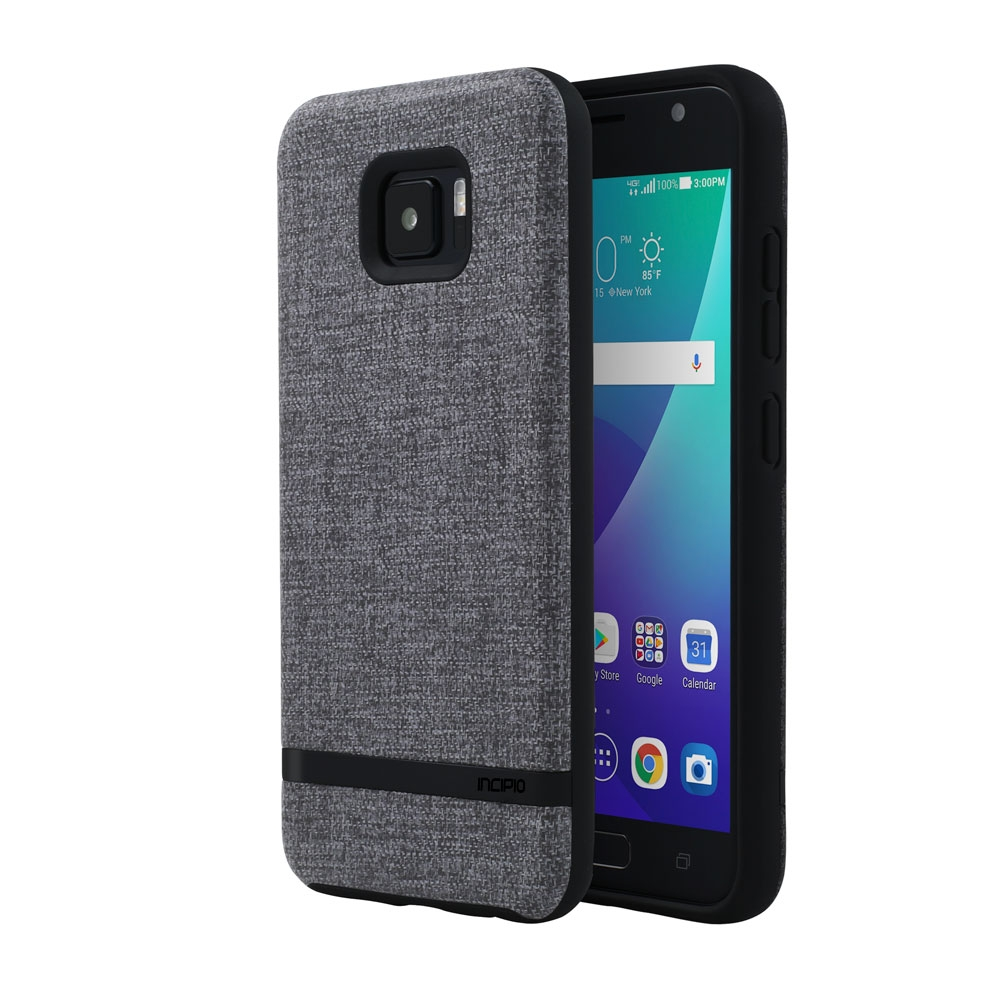 Incipio Carnaby ASUS ZenFone V Case [Esquire Series] with Co-Molded Design and Ultra-Soft Cotton Finish for ASUS ZenFone V - Gray