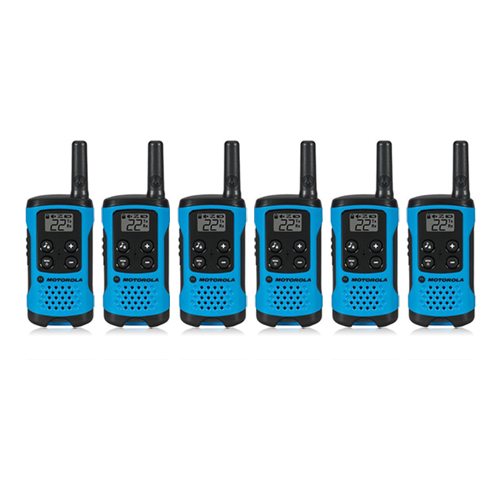 """Motorola T100TP (6 Pack) Walkie Talkies"""