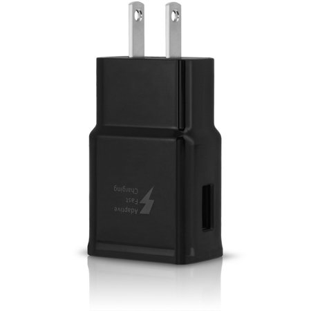 Adaptive Fast Charger Kit Compatible with BLU Life One X2 Devices-[1 x qc 2.0 amp Wall Charger+1 x qc 3.0 amp Car Charger+2 x Micro USB Cable]-Faster Charging!-Black - image 1 de 9