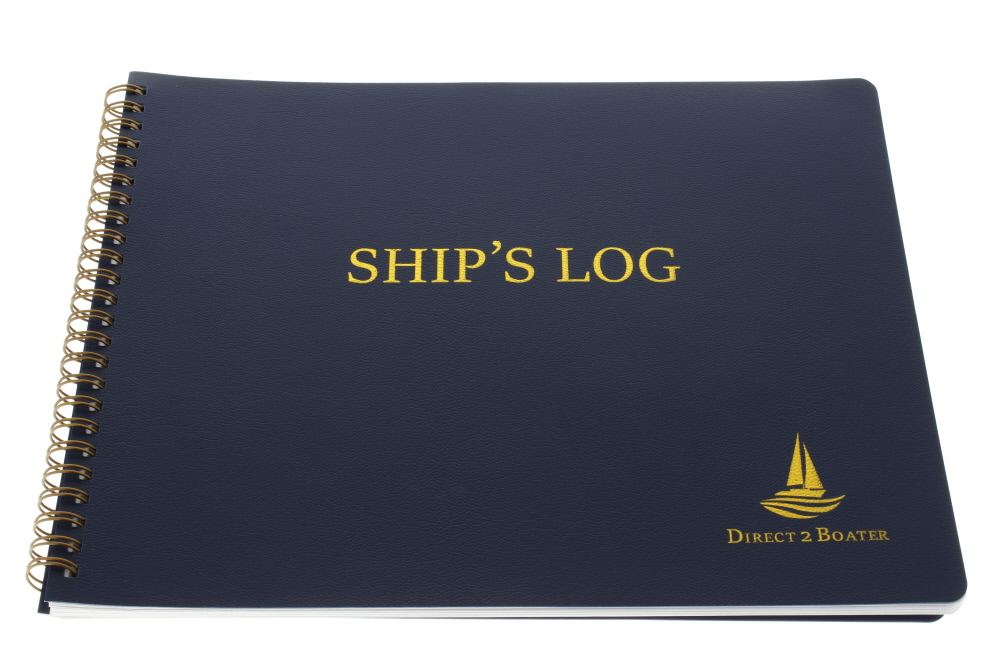 Direct 2 Boater Ship's Log Book for Boating and Sailing by