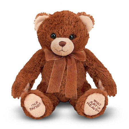 Melissa & Doug Lord's Prayer Bear - Stuffed Animal With Sound Effects for $<!---->