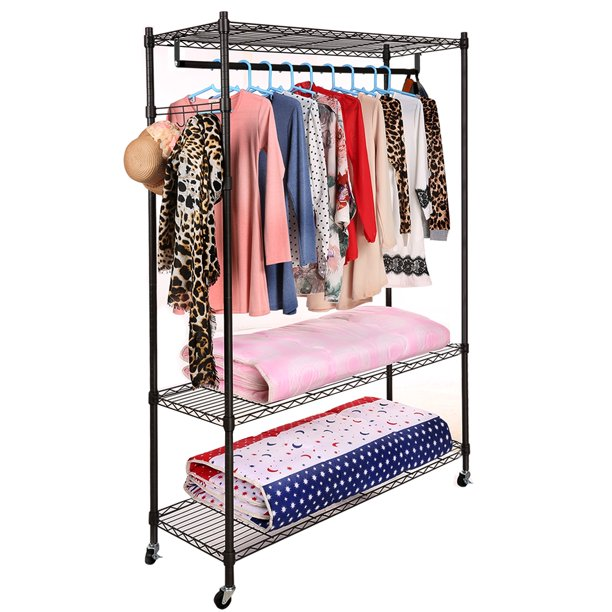 Tiers Heavy Duty Wire Shelving Garment