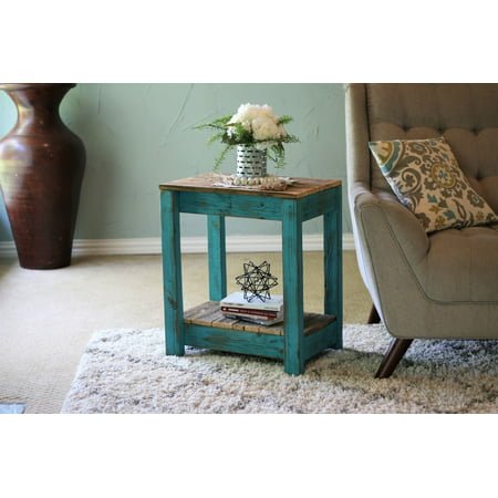Turquoise Base (Turquoise Combo End Table)