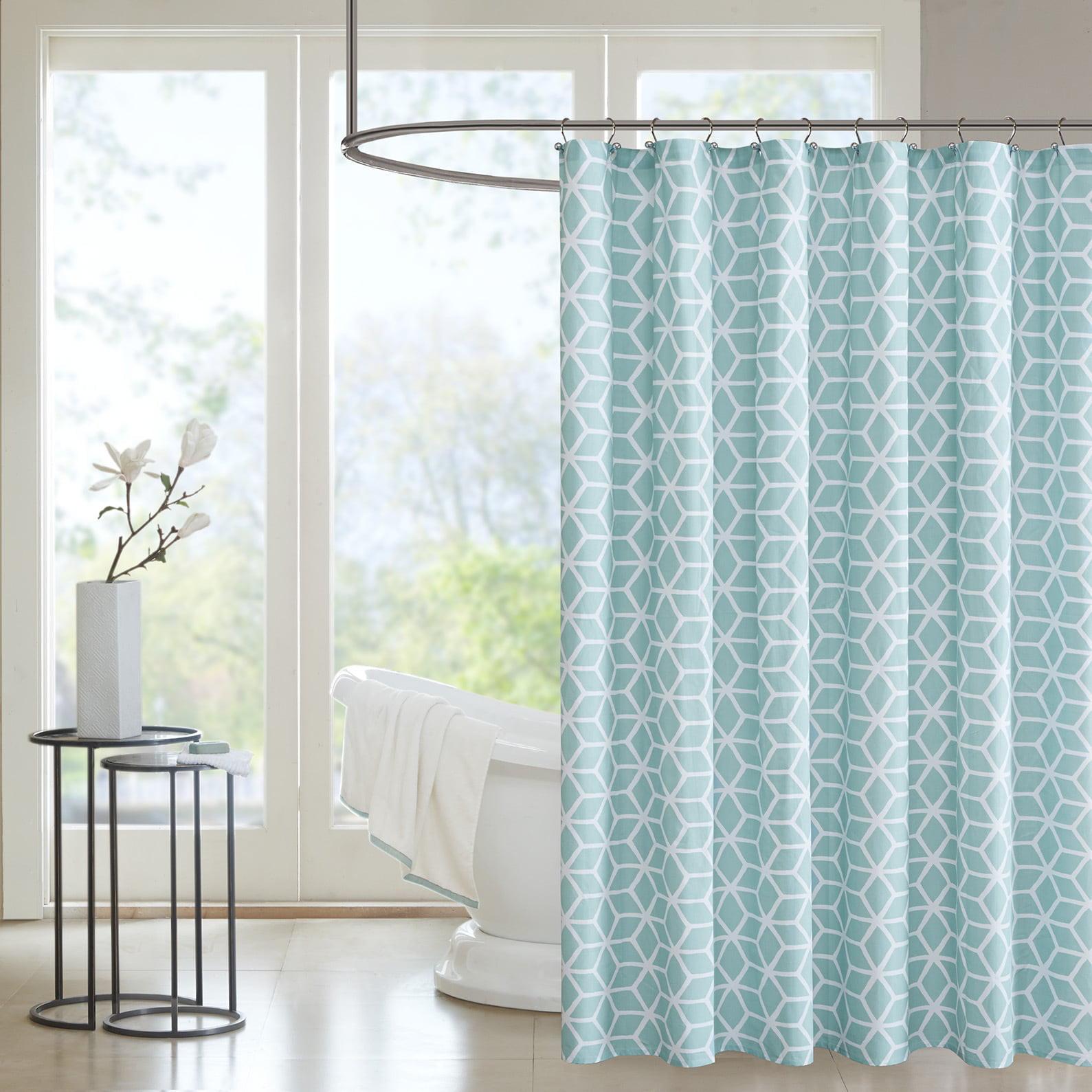 Home Essence Karina Cotton Shower Curtain Walmart Com