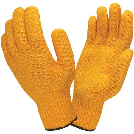 Knit fishing gloves with pvc webbed coating 12 pair for Fishing gloves walmart