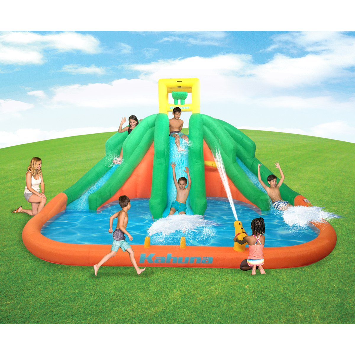 Adventure Falls Inflatable Waterslide