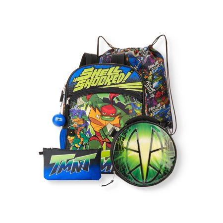 Teenage Mutant Ninja Turtles Shell Shocked 5-Piece Backpack Set