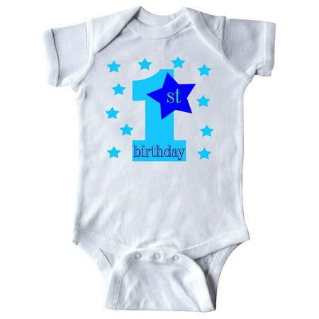 1st Birthday Boy Stars Infant Creeper