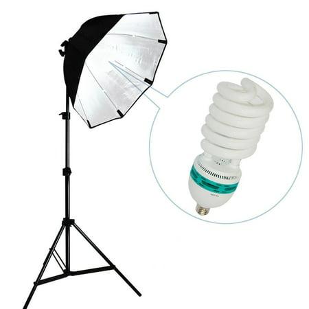 LimoStudio Photography Video Studio Continuous Softbox Lighting Light Kit with Photo CFL 105W Bulb, LIWA28