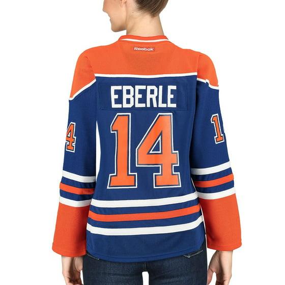 bdb6530a5e1 Reebok - Jordan Eberle Edmonton Oilers Reebok Women's Home Premier ...