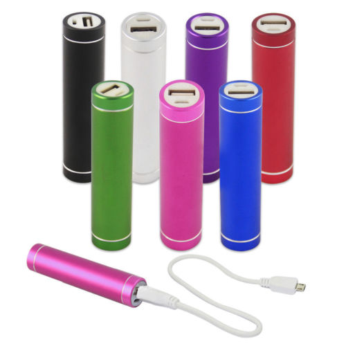 Portable Power Bank External Mobile USB Battery Charger for Cell Phone 2600mAh