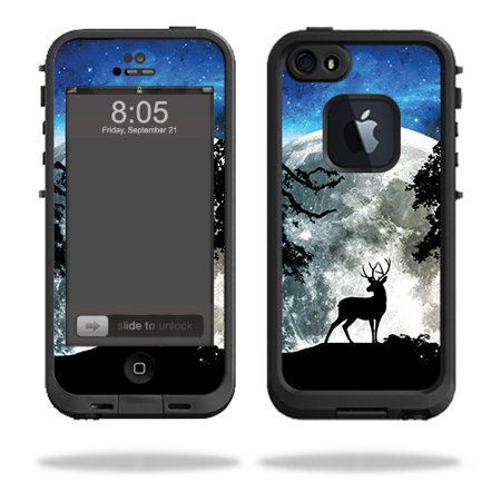 Skin For Lifeproof iPhone 5s case - Moonlight Deer | Protective, Durable, and Unique Vinyl Decal wrap cover | Easy To Apply, Remove, and Change