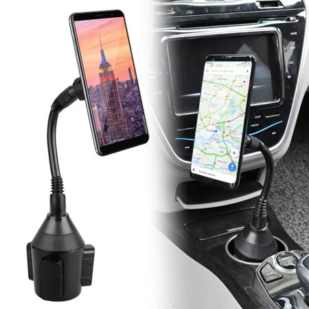 Car Cup Holder Mount, EEEKit Universal Magnetic Long Arm Car Cup Mount Holder for iPhone 11/11 Pro Xs XS Max XR X 8 Plus 7, Samsung Galaxy S10 S10E S9 S9+