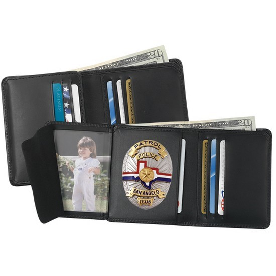 Strong Leather Company 79520-6522 6 Cc Badge Wallet 652 - 79520-6522 - Strong Leather Company