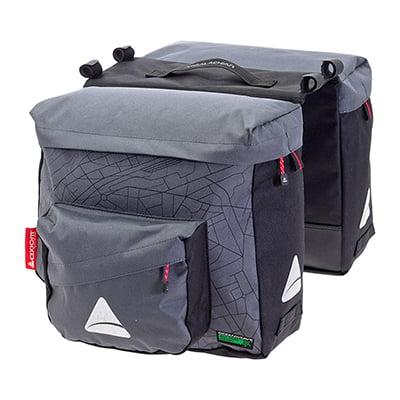 BAG AXIOM PANNIER SEYMOUR O-WEAVE TWIN P25 GY/BK