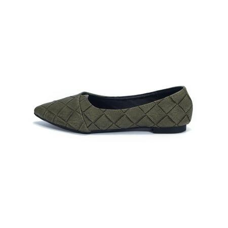 03556d556ac7 FLORATA - Women's Wide Width Shoes Ballet Flats Basic Casual Shoe -  Walmart.com