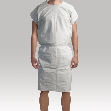 Patient Bins (Disposable Patient Gowns-standard - Pack of 50 (White) )