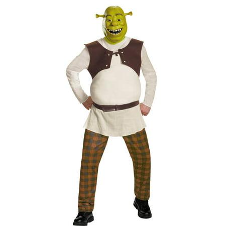 Morris Costumes Adult Mens Tv & Movie Characters Shrek Deluxe 42-46, Style DG86358D